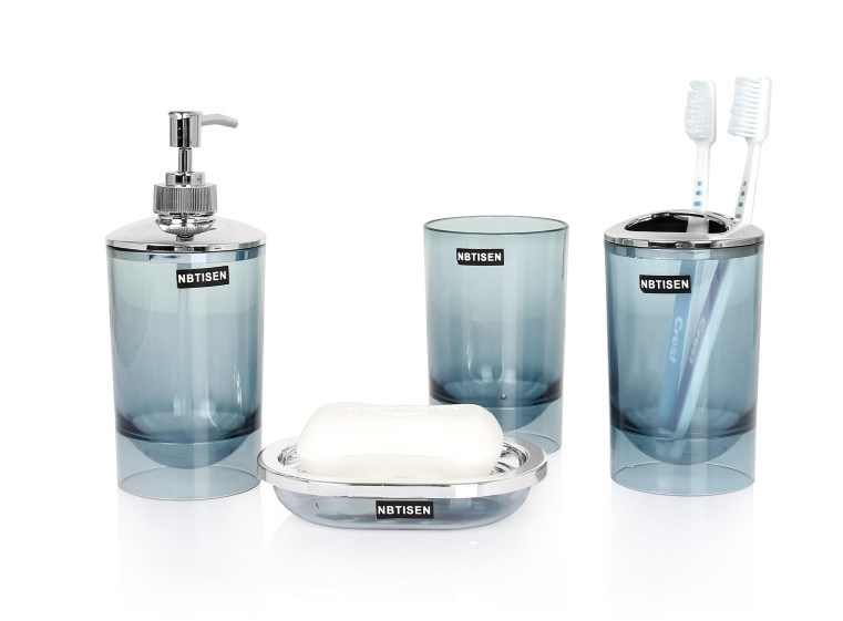 new design acrylic plastic bathroom set ts 8022 china new bathroom