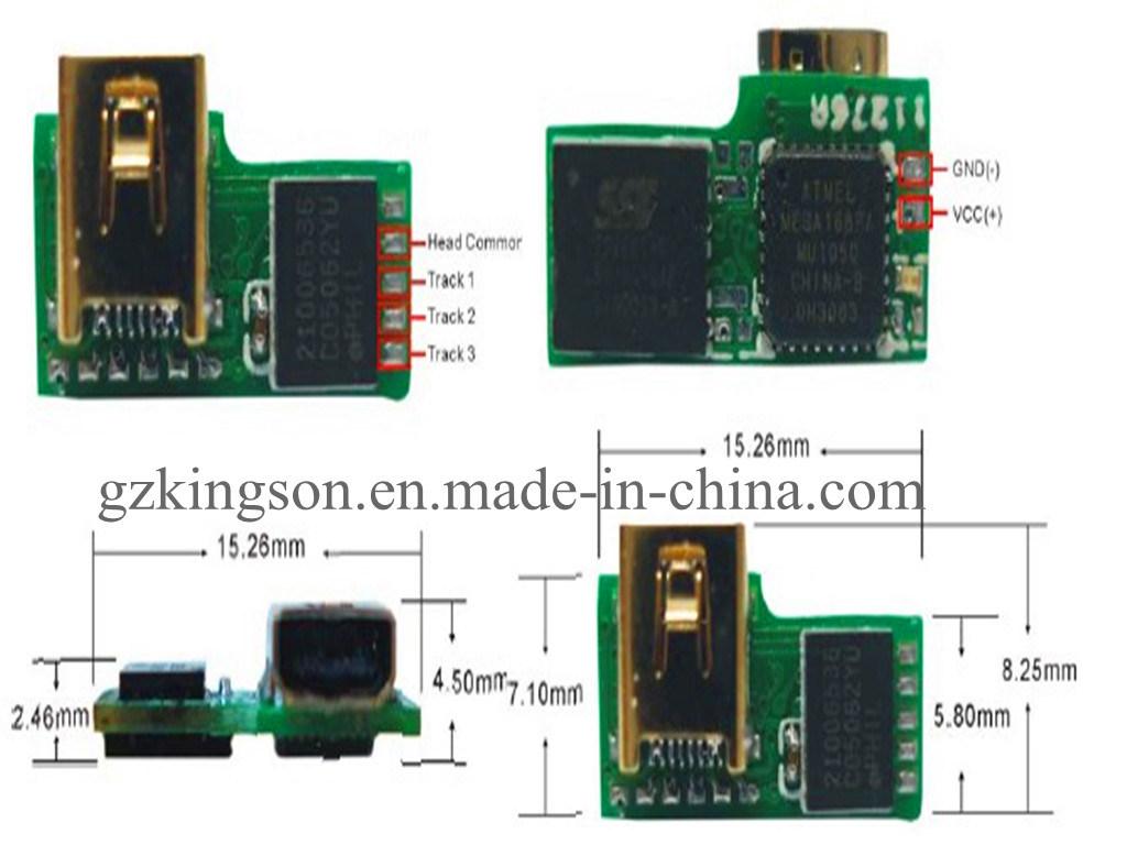 电路板miniusb接口接线尺寸图