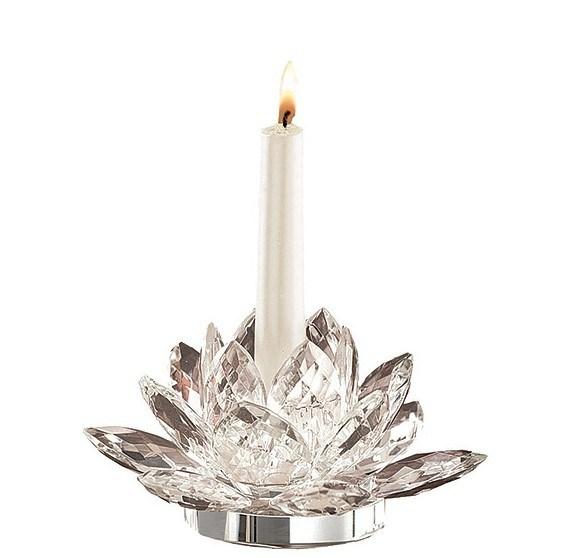 De houder van de kaars van het glas van het kristal van fashine voor de decoratie van het huis for Home decoration meester