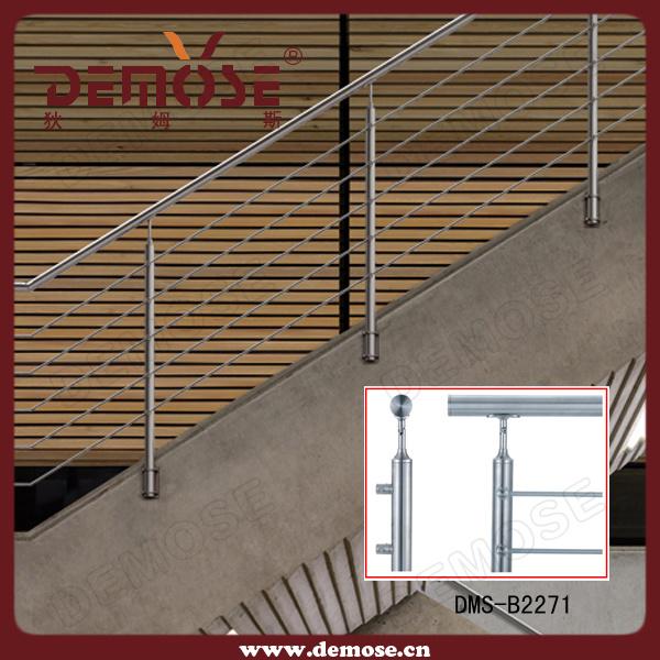 balustrade d 39 escalier de fil d 39 acier inoxydable dms b2218 balustrade d 39 escalier de fil d. Black Bedroom Furniture Sets. Home Design Ideas