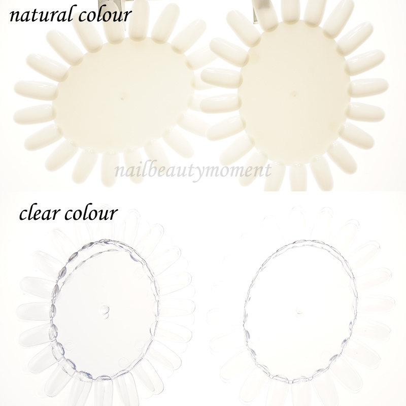 Nail Art Display Color Chart Wheel Practice Tips Tool (NT05)