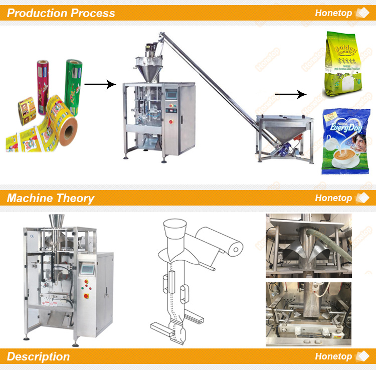 Bag Packing Machine for Flour