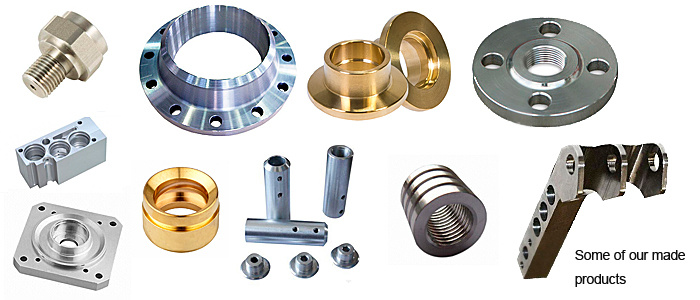 Precision CNC Steel Brass Machining Flange Parts
