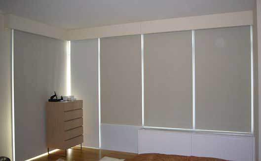 China blackout electric roller shade system china for Motorized blackout roller shades