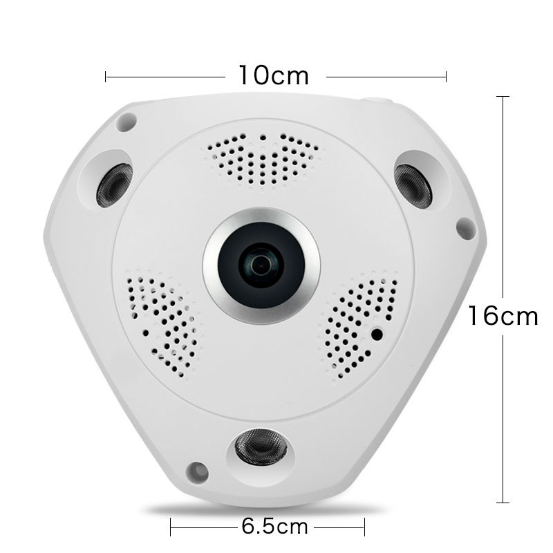 New 3D Vr Camera WiFi 360 Panoramic Video Camera