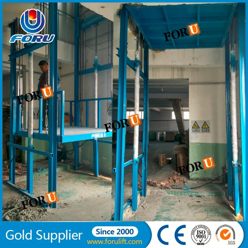 China Warehouse Freight Elevator Vertical Hydraulic Cargo Lift Price