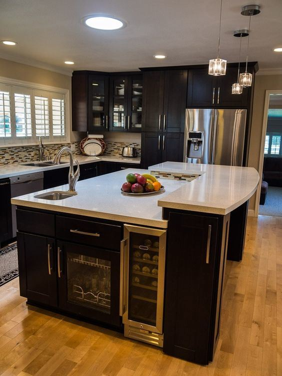 Kitchen Cabinets Ideas kitchen view custom cabinets : China Kitchen View Custom Cabinets - China Doors, PVC Door