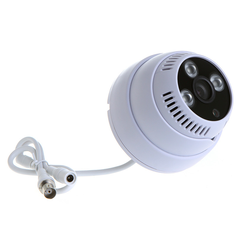 1/3 CMOS 1200tvl Indoor CCTV Camera for Security Surveillance with 3 IR Array LED Night Vision