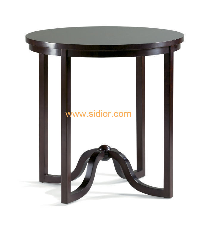 (CL-5504) Classic Hotel Restaurant Public Furniture Wooden Coffee Table