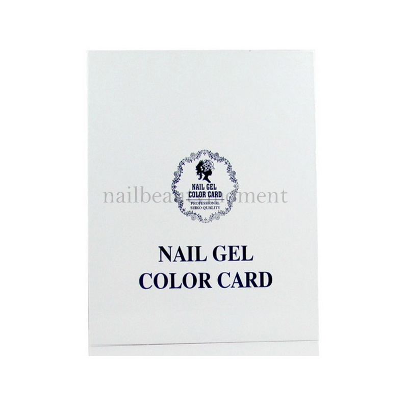 Nail Gel Color Chart Nail Display Book Nail Color Card Displayer ...