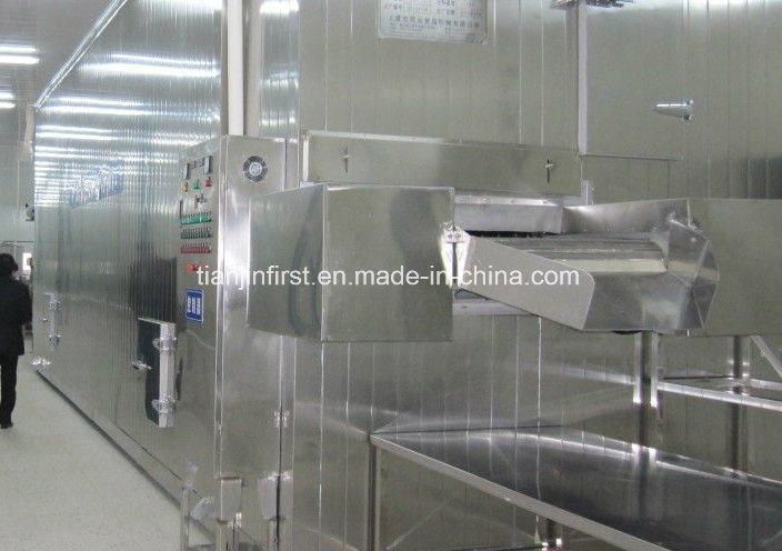 Линия по производству замороженных картофельных фри и картофельных чипсов
