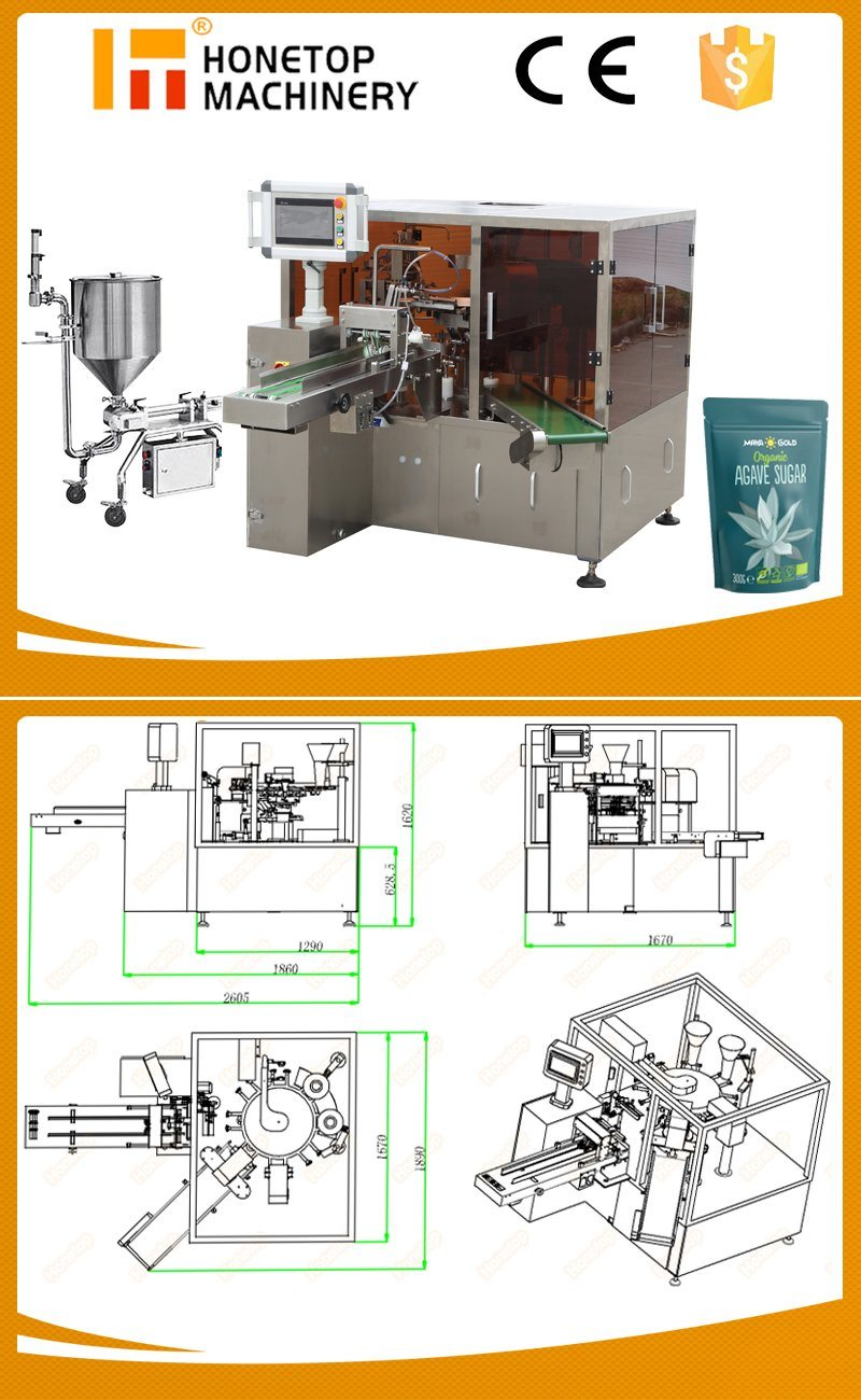 Auto Liquid Pouch Packaging Machine