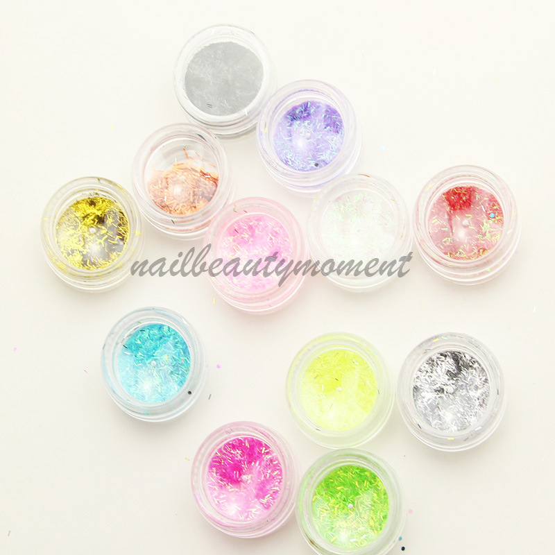 Nail Art Glitter Strip Decoration Glitter Kit (D03)