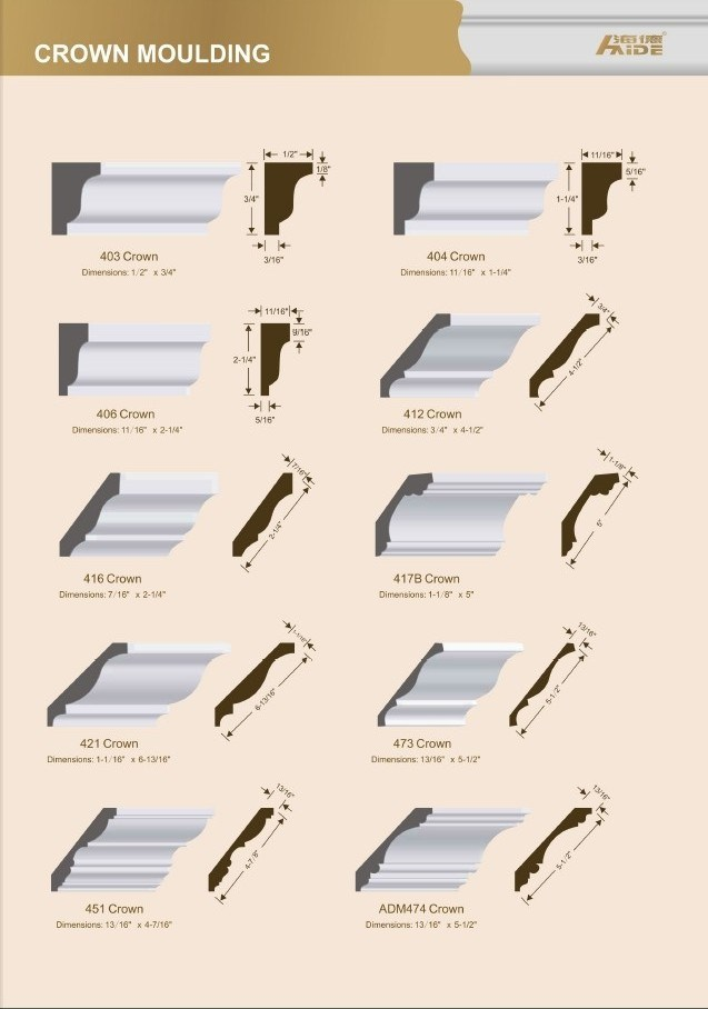 China Primed MDF Cornice/Crown MDF Moulding - China Primed ...