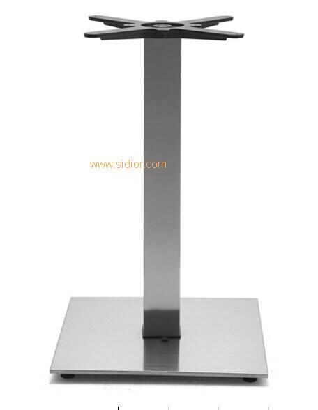(SC-733) Restaurant Dining Furniture Base Stainless Steel Metal Table Legs