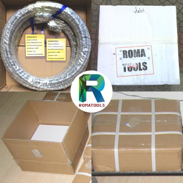 Romatools 10.5mm Diamond Wires for Granite