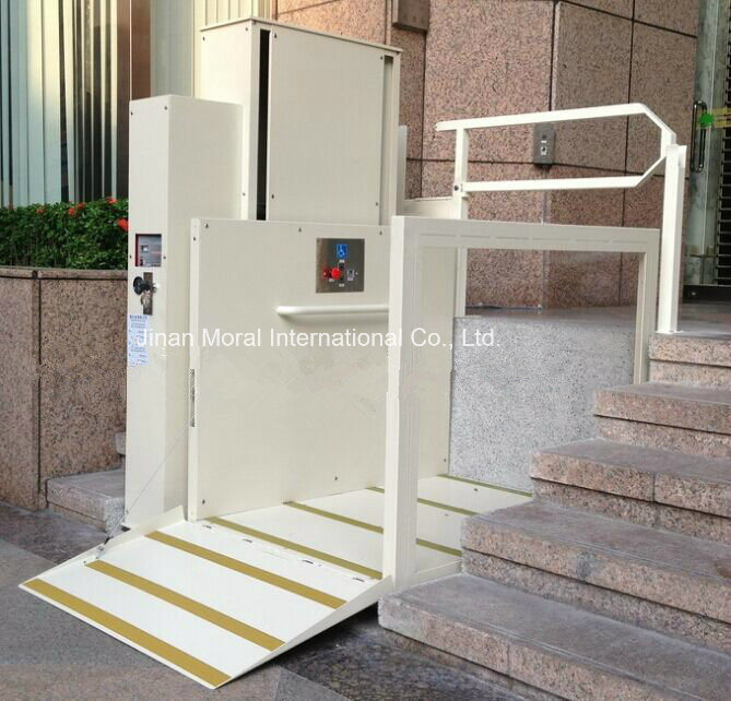 China cheap home elevator hydraulic wheelchair accessible Handicapped accessible homes for sale