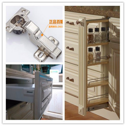 China Custom Made Newest White Paint Solid Wood Kitchen
