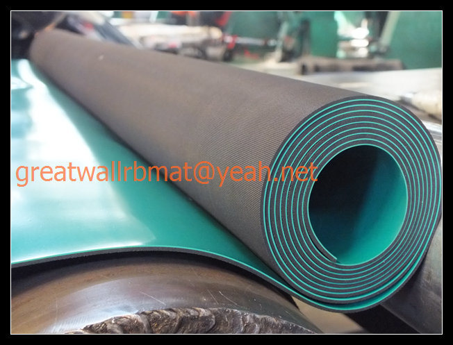 Anti Static Walls : China high quality composite anti static rubber sheet