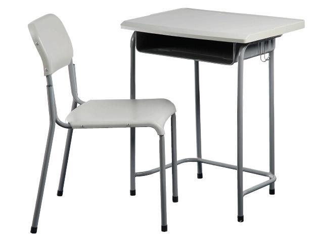 China plastic school desk with chairs in student furniture for School furniture from china
