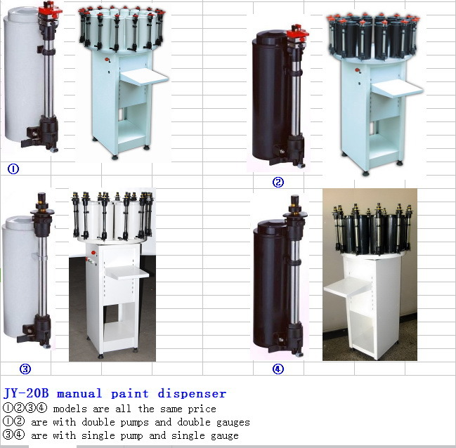 Paint Titning Equipment Combined by Mixer and Dispenser (JY-50A)