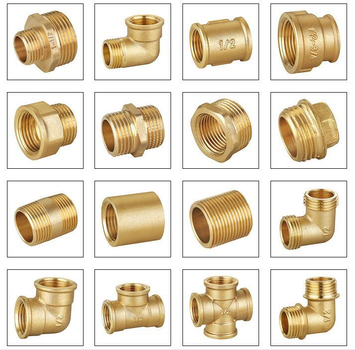 Made in china quality brass hose coupling pipe fittings