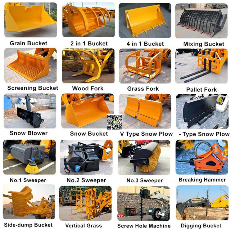 Your Best Choice Chinese Small Loader for Sale