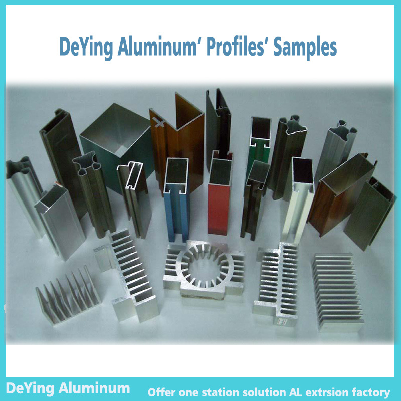 China Alumium Aluminium Profile Extrusion Case And