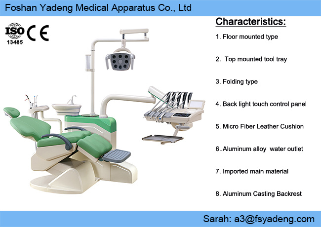 China Built In Implant System Dental Unit Chair China