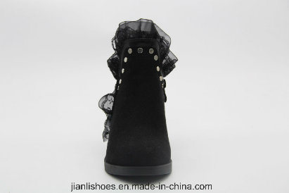 European Style Sexy Ankle Lace Boots for Fashion Lady (AB619)