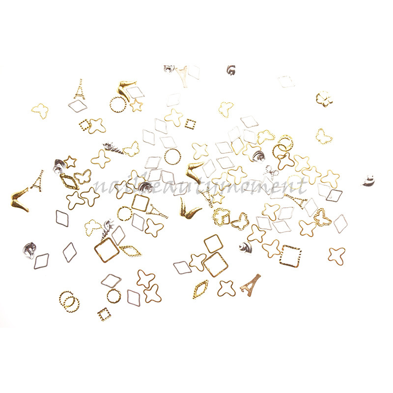 Manikur Nail Art Beauty Alloy Ring Decoration Products (D51)