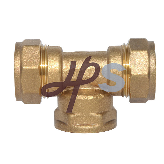 China brass compression fitting for copper pipe