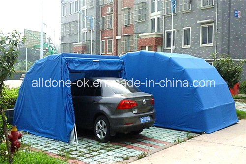 Small Car Shelter : China retractable folding car shelter garage umbrella