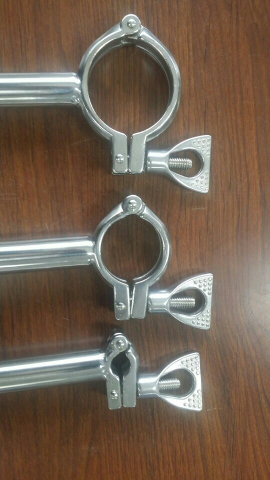 China sanitary stainless steel tri clover clamp ferrules