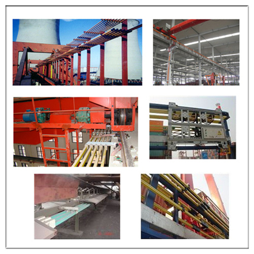 Insulated Bus Bar : China insulated crane hoist high conductivity electric bus
