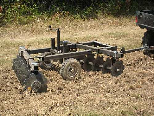 Galerry atv pull behind disc plow