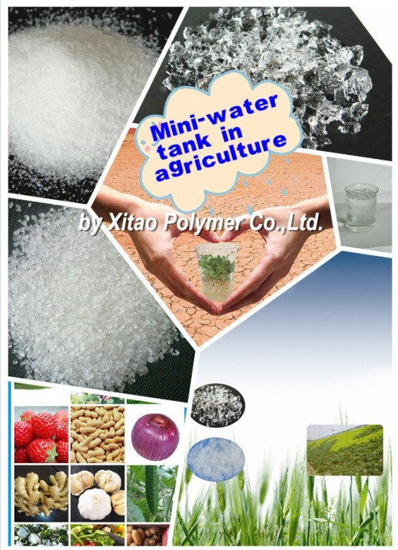 current application of hydrogel polymers in agriculture use
