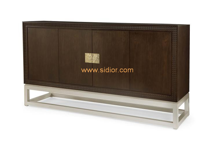 (CL-7710) Luxury Hotel Restaurant Villa Lobby Furniture Wooden Console Table