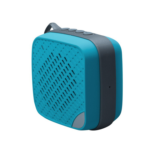 Ipx4 Waterproof Bluetooth Speaker with FM Blue