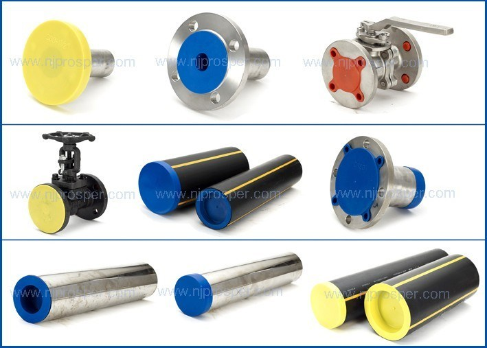 China plastic pipe and flange covers protectors