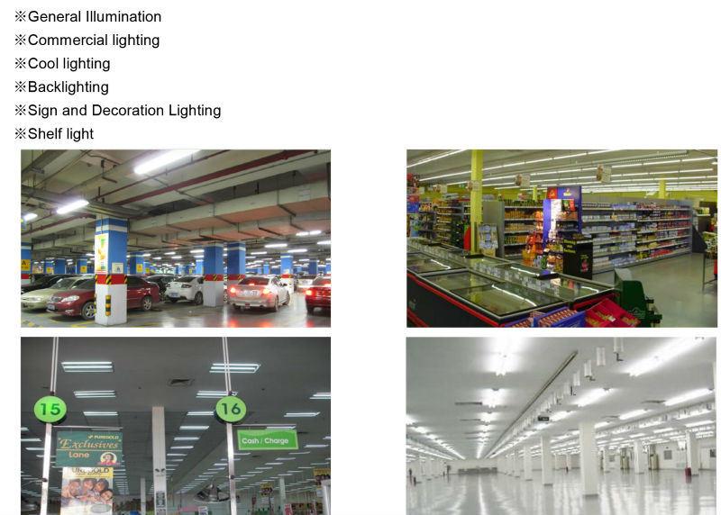 UL 4FT 1200mm LED Light Epistar T8 LED Tube
