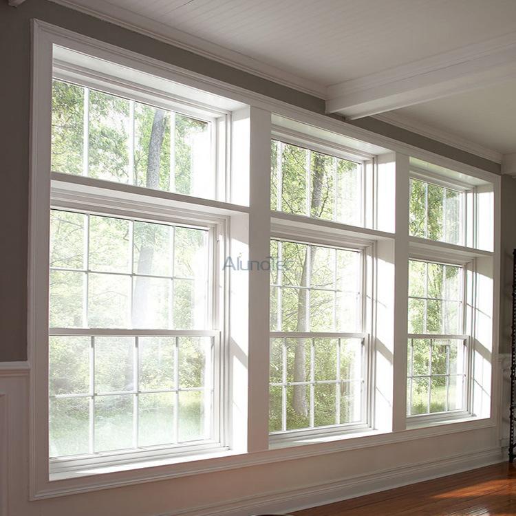 China aluminum sash window top double hung window vertical for Top hung sliding glass doors