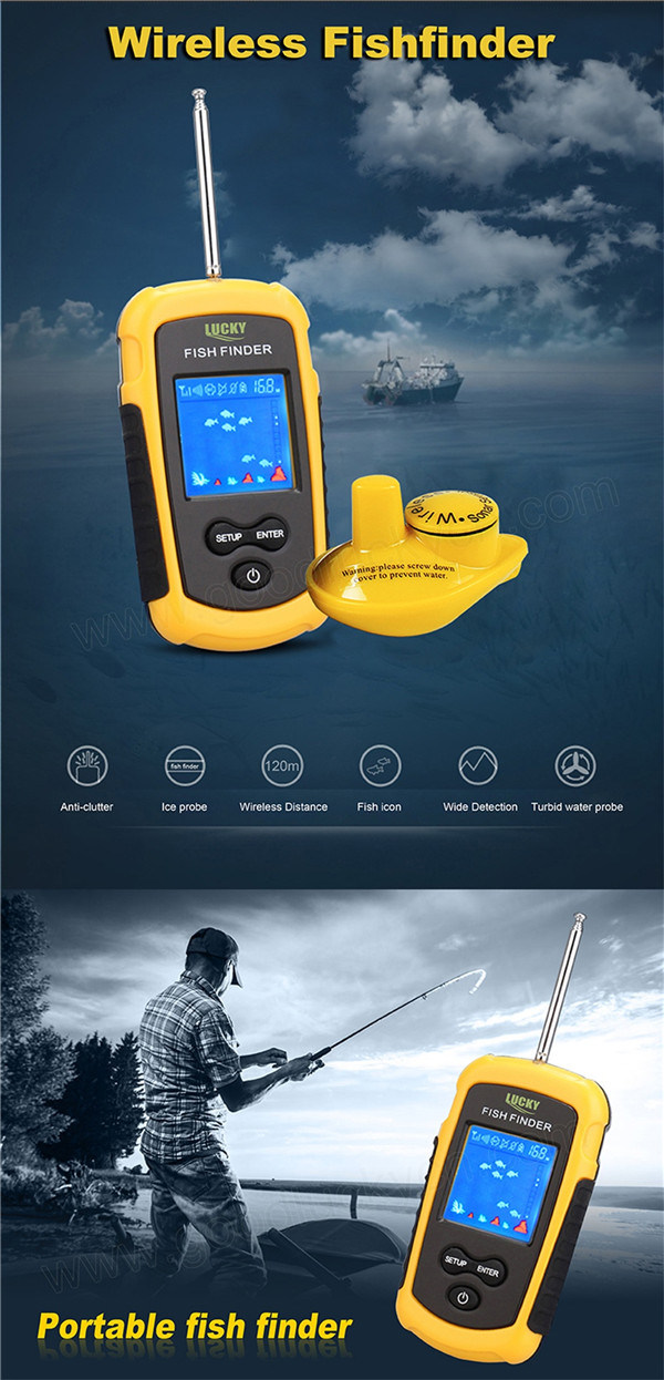 China wireless fish finder portable fishfinder china for Wifi fish finder