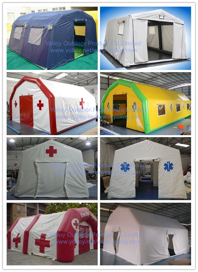 Inflatable Disaster Shelters : China inflatable buildings and emergency shelters
