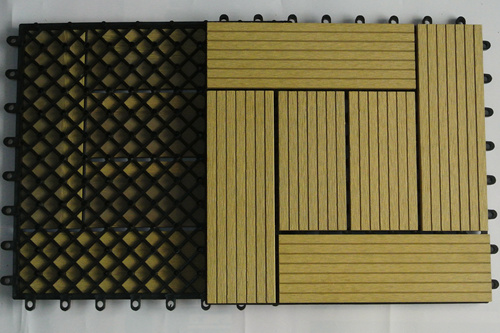 china wpc extrusion decking/wood rubber deck tile/swimming pool