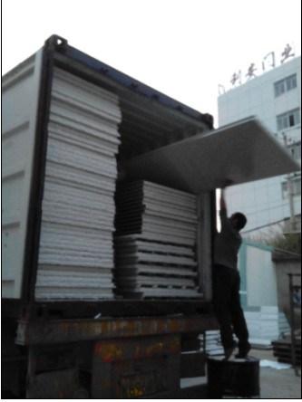 PVC Filmed EPS Foam Partition Board for Steel Workshop Houses