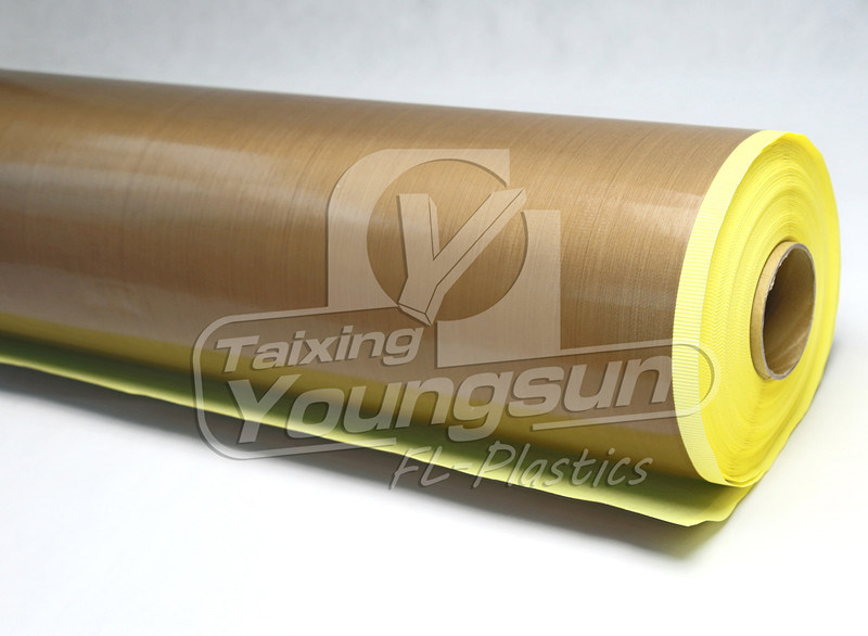 China Ptfe Coated Fiberglass Adhesive Tape With Release
