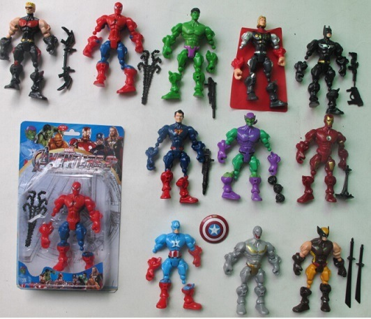 China Cartoon Toy Action Figure Toy Pvc Action Figure