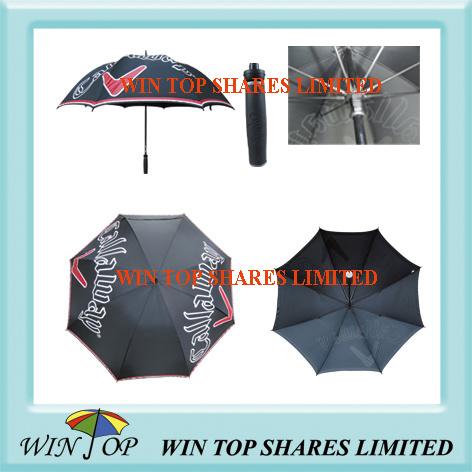 PVC and Pongee Golf Umbrella (WT6096)