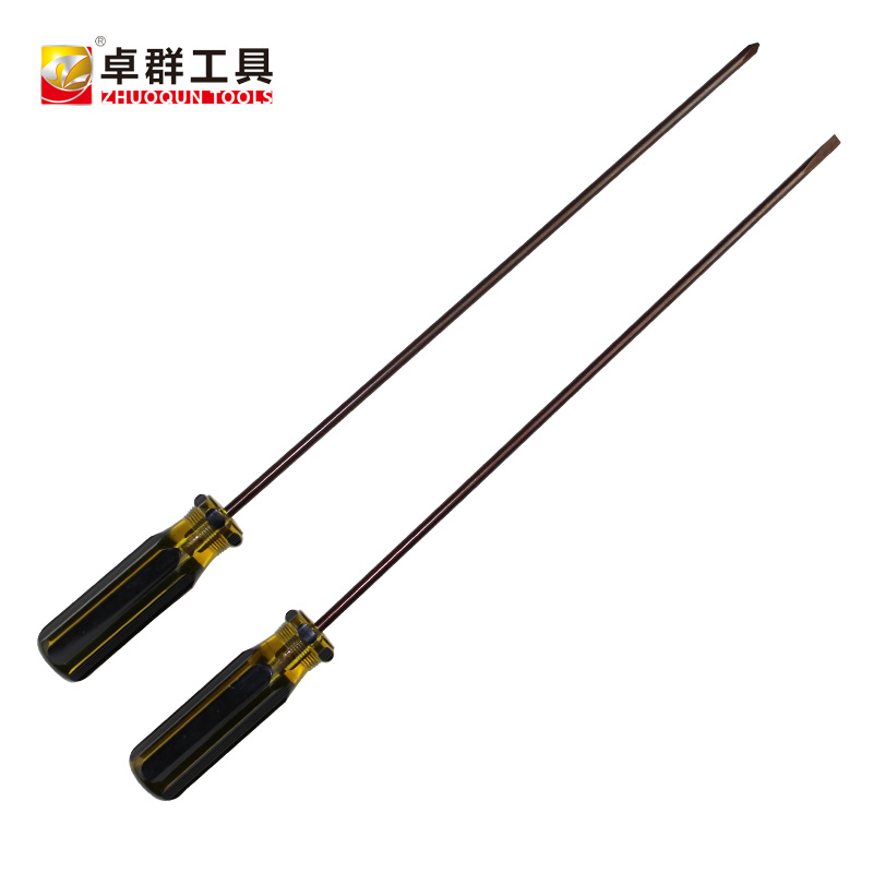 Color-Strip Crystal Handle Screwdriver (NO. 3306)